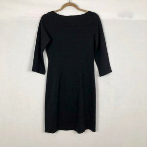 Jude Connally Dresses - Jude Connally Black Stretch Sheath Dress Size SM